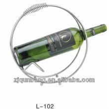 Recientemente redonda mango diseñado vino portavasos titular