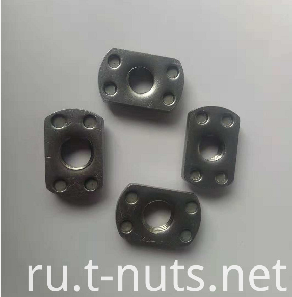 Stainless steel welding nut
