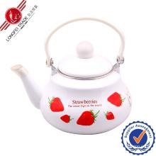 Eco-Friendly Enamel Teapot with Bakelite Handle