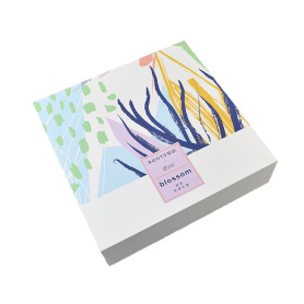 Cosmetic Book-shape Paper Rigid Gift Box