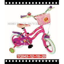 Cycle de vélo enfants / enfants / Bicicleta Infantil / BMX Girl avec poignée