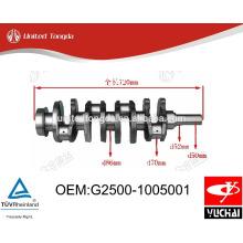 Yuchai YC4G Cigüeñal G2500-1005001