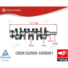 Yuchai YC4G Vilebrequin G2500-1005001