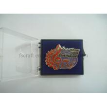 Acrylic Gift Box Music Pin Badge