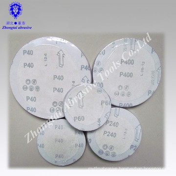 Aluminum Oxide Abrasive Sanding Disc with Hook and Loop
