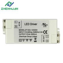 60W 12V Plastic Case Led Driver Circuit Transformer