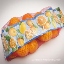 PE Tubular Orange Net Bag