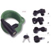 Cerradura del cable, cerradura de la bicicleta (AL08903)