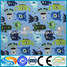 Сток много фланелевой ткани хлопчатобумажной ткани
