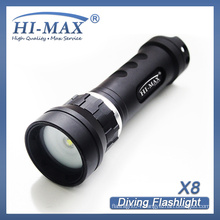 most powerful led diving flashlight