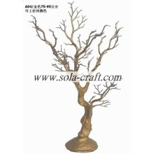 Factory selling for Artificial Dry Tree Branch 75 Wishing Branch Crystal Wedding Bead Garland Tree with Gold Color export to Virgin Islands (U.S.) Importers