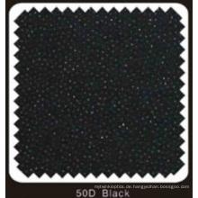 Schwarz Farbe gewebt Doppel DOT schmelzbare Interlining (50D schwarz)