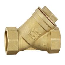Латунный обратный клапан - цвет латуни. Латунный фильтр a. 0505