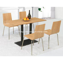 Living Room Furniture Cheap Wooden Table (FOH-BC18)