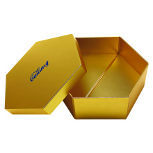 Hight Quality Hexagon Paper Gift Box tegar
