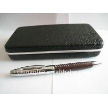 conjunto de lápiz de cuero de alta calidad