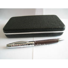 high quality leather pen set