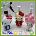 Forma de dibujos animados personalizado botella vacía de plástico jabón líquido botella de PP