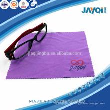 80% poliéster e 20% poliamida óculos pano limpo