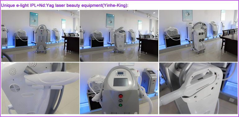 Popolari IPL RF ND: YAG Laser Hair Removal per saloni di bellezza