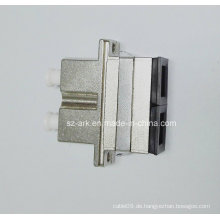 Sc-LC Duplex-Hybrid-Metall-LWL-Adapter