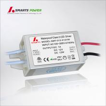 220 V 12 v 24 v mini konstante spannung führte treiber 12 Watt led ac dc transformator
