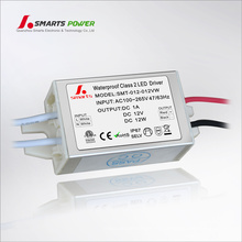 220 v 12 v 24 v mini voltaje constante llevó el controlador 12 W llevó el transformador de cc de CA