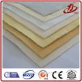 Tissu de filtre polyester feutre aiguilleté en acier inoxydable