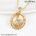 32753-high quality fashion jewelry 18k gold religious charm pendant