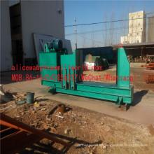 Machine horizontale de diviseur en bois de diviseur en bois de double cylindre à vendre