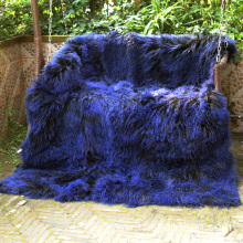 OEM/ODM Manufacturer for Sheep Wool Blanket,Mongolian Fur Throw Blanket,Lamb Fur Blanket Manufacturers and Suppliers in China Mongolian Tibetan Lamb's Fur Rugs export to Benin Manufacturers