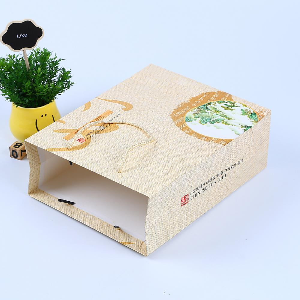 Wholesale Cheap Brown Kraft Paper Bag With Handles