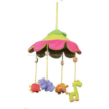Factory Supply Stuffed Baby Bed Musical Movement Hang Toy