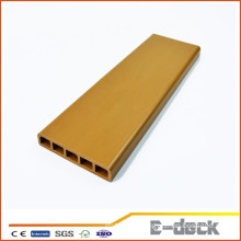 Eco-friendly ourdoor high dentisy rotproof wpc flooring decking