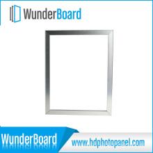 Nova Chegada Extra-Fina Borda Moldura De Metal para Painéis de Foto De Alumínio HD Wunderboard