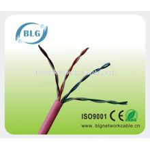 305m per roll BLG solid copper cable cat5e wire for broadband