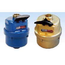 Medidor de água volumétrica de bronze classe C / D