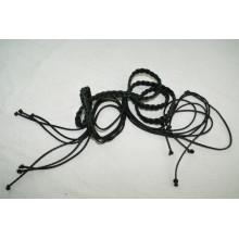 Леди одежды моды Ручной PU шнур плетеные ремни-KL0045