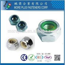 Taiwan DIN 982 985 en acier inoxydable Sechskantmuttern Metric autobloquant en nylon hexagonale Insert Lock Nuts