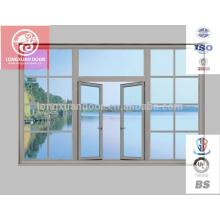 Venda quente / preço competitivo / alta qualidade / melhores janelas giratórias de alumínio