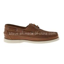 Neue Produkte China Günstige Männer Leder Bootsschuhe