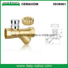 Válvula de filtro en Y de latón fabricada en Italia (AV10066)