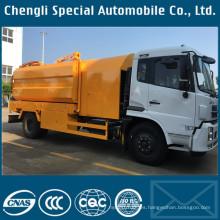 Camión de limpieza con chorro de agua de alta presión de Dongfeng