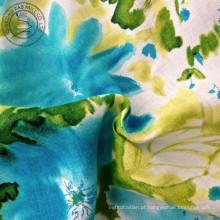 Linho tecido camisa impressa (QF13-0262)