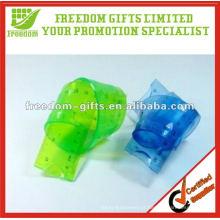 Você pode dobrar réguas flexíveis relativas à promoção do PVC