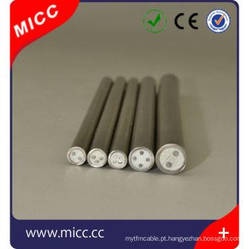 O tipo metal mineral de E revestido revestiu / tipo pequeno cabo do E do diâmetro do MI