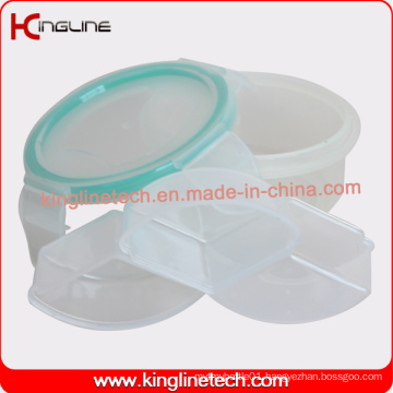 Latest Design Plastic 3-Cases Pill Box (KL-9080)