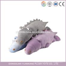 40cm pillow style super soft plush cute crocodile toy
