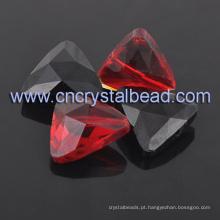 Grânulos de cristal do triângulo Decor Rhinestone