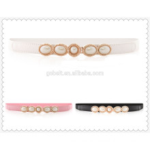 Fashion Wonens elastic stretch belts